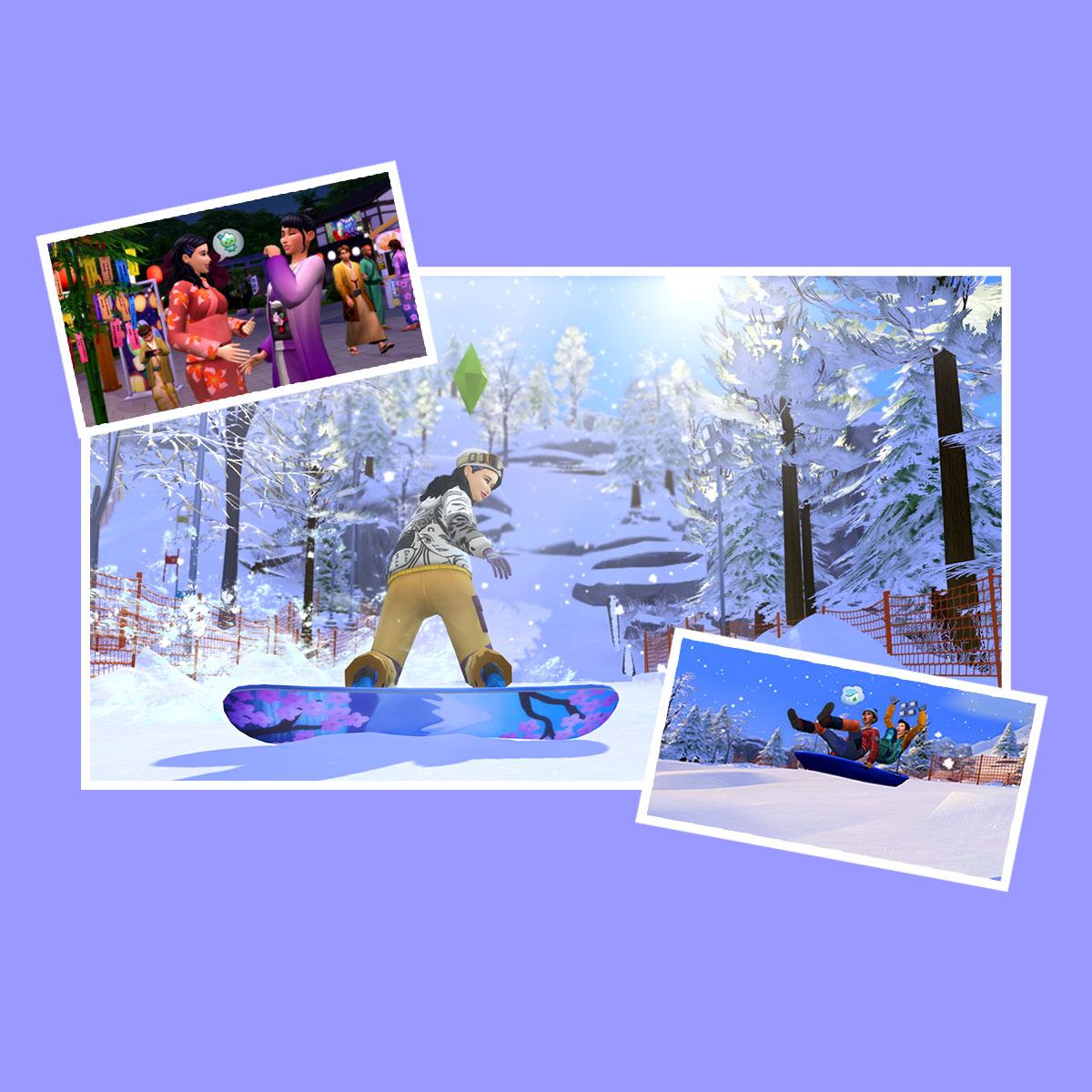 Winnen: Sims 4 sneeuwpakket - Meer strips, tips en vips | Tina.nl